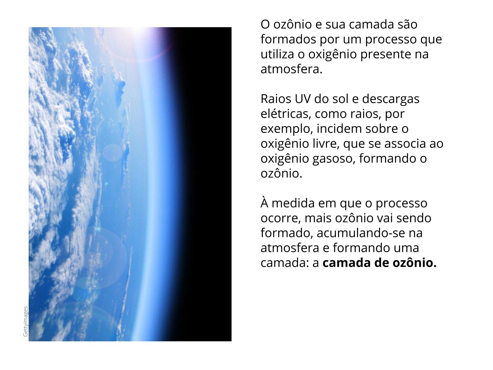 Principais características do ozônio