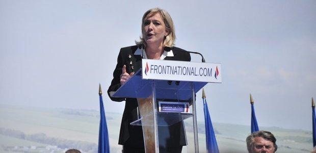 Marine Le Pen, líder da Front National, partido de direita francês. Foto: Wikimedia Commons