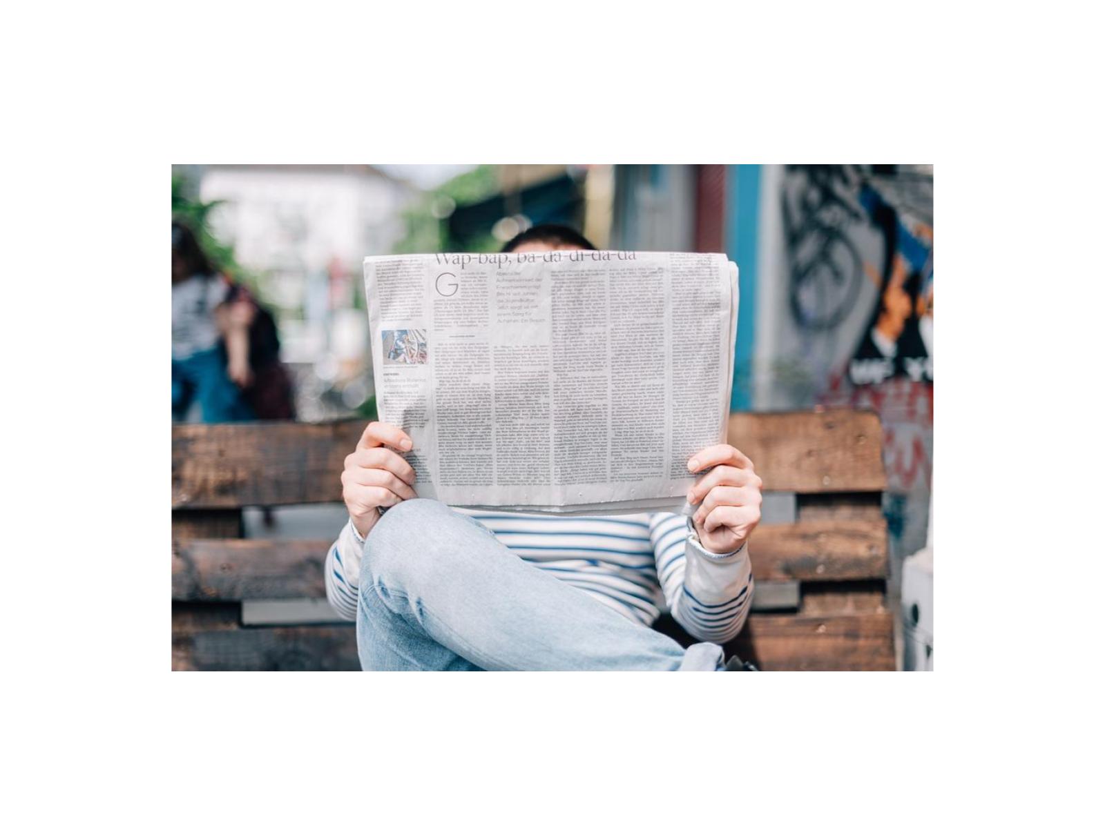 Pesquisas em forma de notícias e reportagens