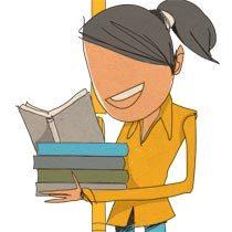 Livros com critério. Ilustração: Pedro Hamdan