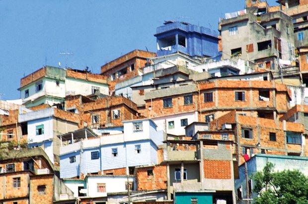 O Morro da Providência, que abriga uma favela, recebeu os moradores expulsos do centro. Silvio Viegas