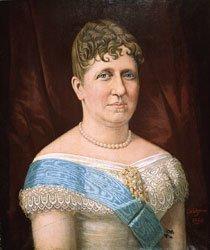 Quadro retratando a Princesa Isabel, do pintor Miguel N. Canizares, de 1888. Autor: Lula Rodrigues/Reprodução, agência: Museu Imperial