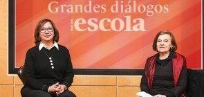 Delia Lerner aborda a reflexão sobre a linguagem