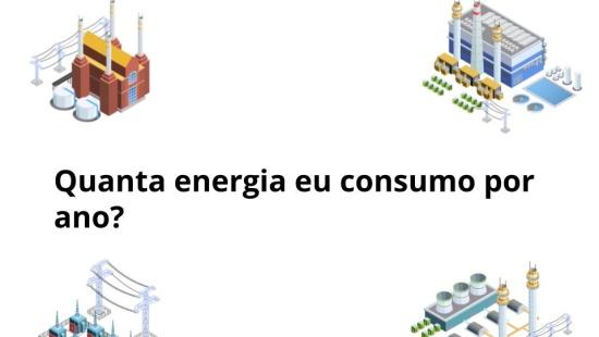 O consumo de energia elétrica per/capita: Uma análise comparativa