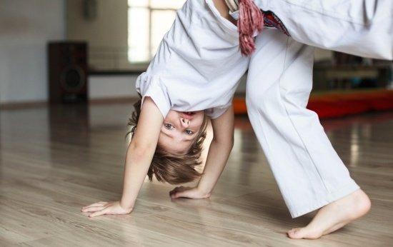 Entre na roda de capoeira!