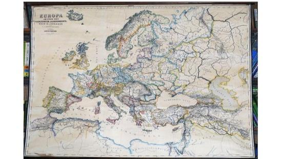 Mapas em formatos diferenciados