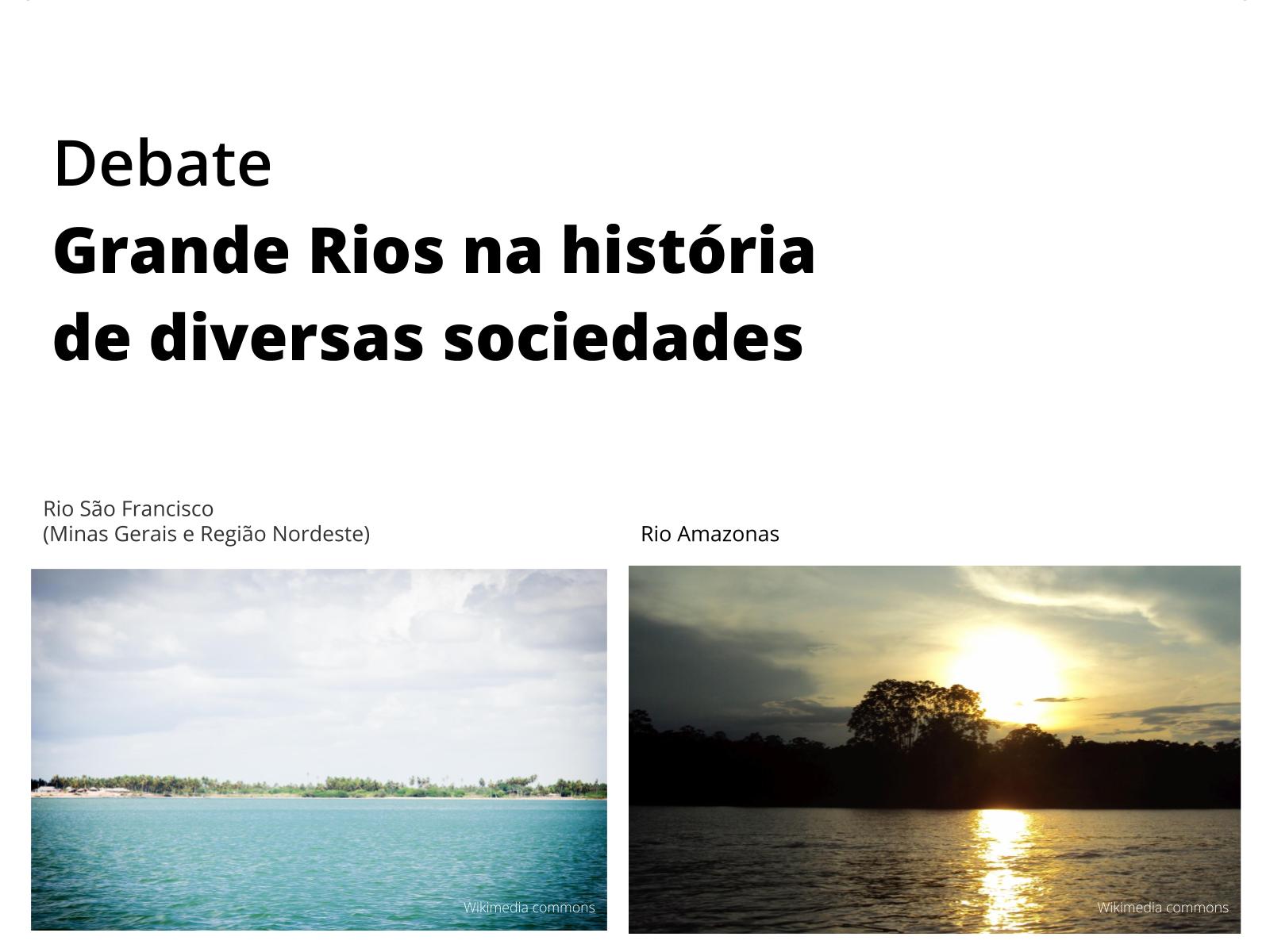 Grandes Rios: influências na construção da identidade e cultura de Grupos Sociais