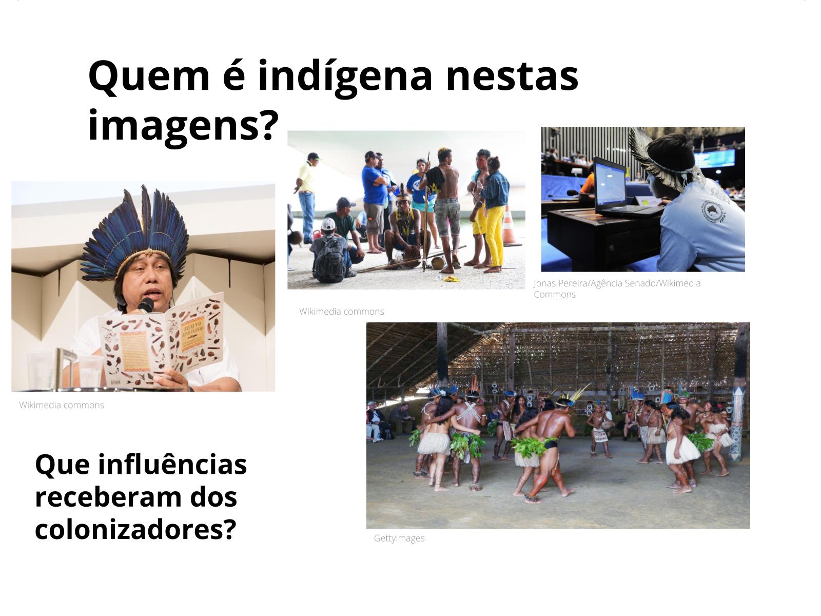 Movimentações indígenas após a chegada dos europeus