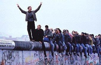 Queda do Muro de Berlim. Foto: Getty Images
