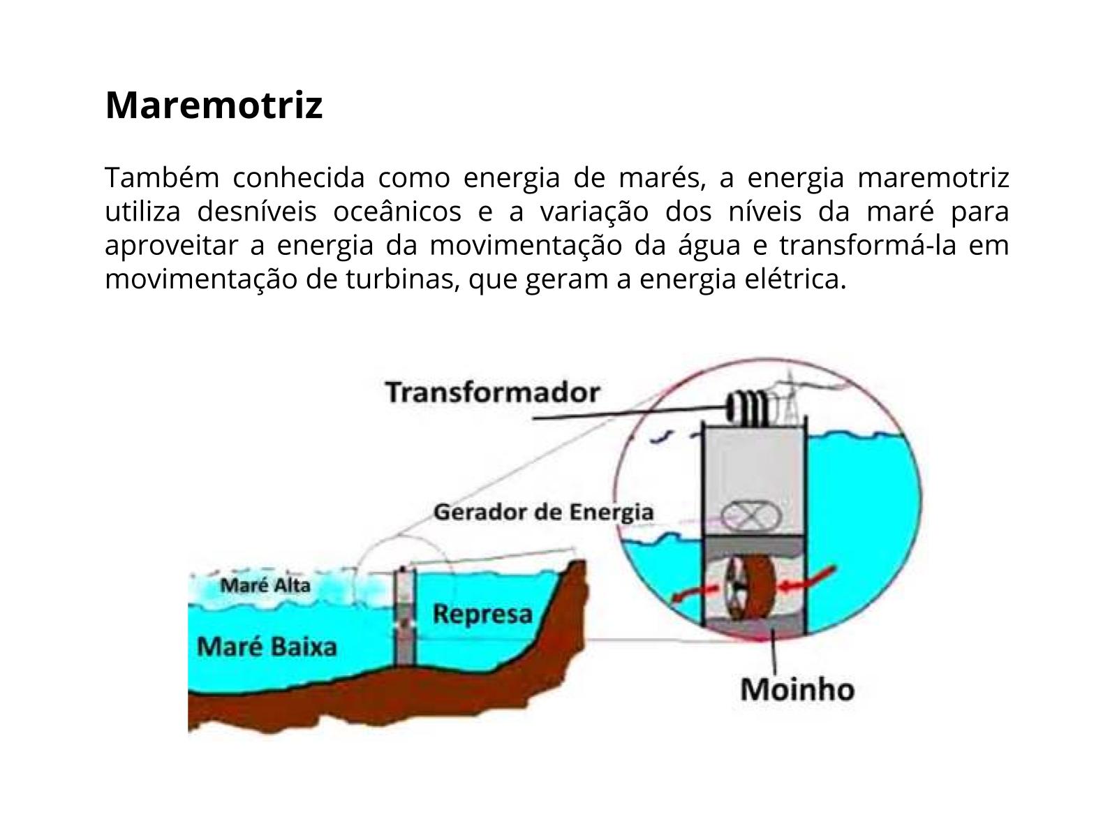 O uso da água na geração de energia elétrica