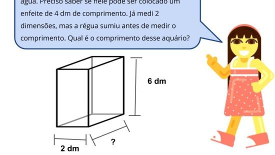 Equivalência entre litro e decímetro cúbico