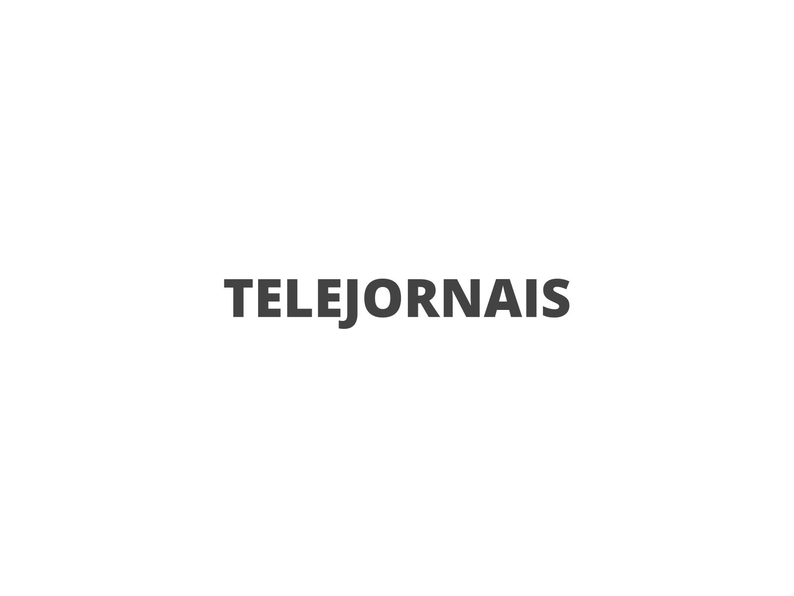 Telejornais