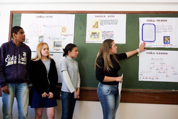 Seminário sobre a imigração em Petrópolis