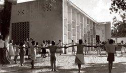A Escola Parque de Salvador, em 1950: projeto piloto de ensino integral. Foto: CPDOC/FGV