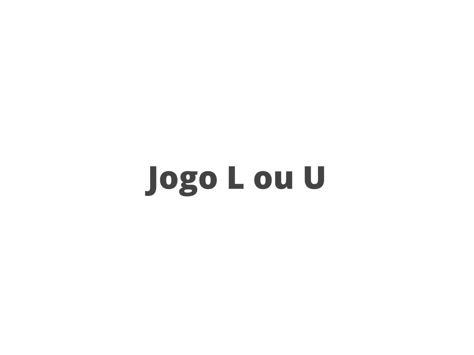 Revisão sobre a representação do fonema \w\ em final de sílaba: Jogo L ou U