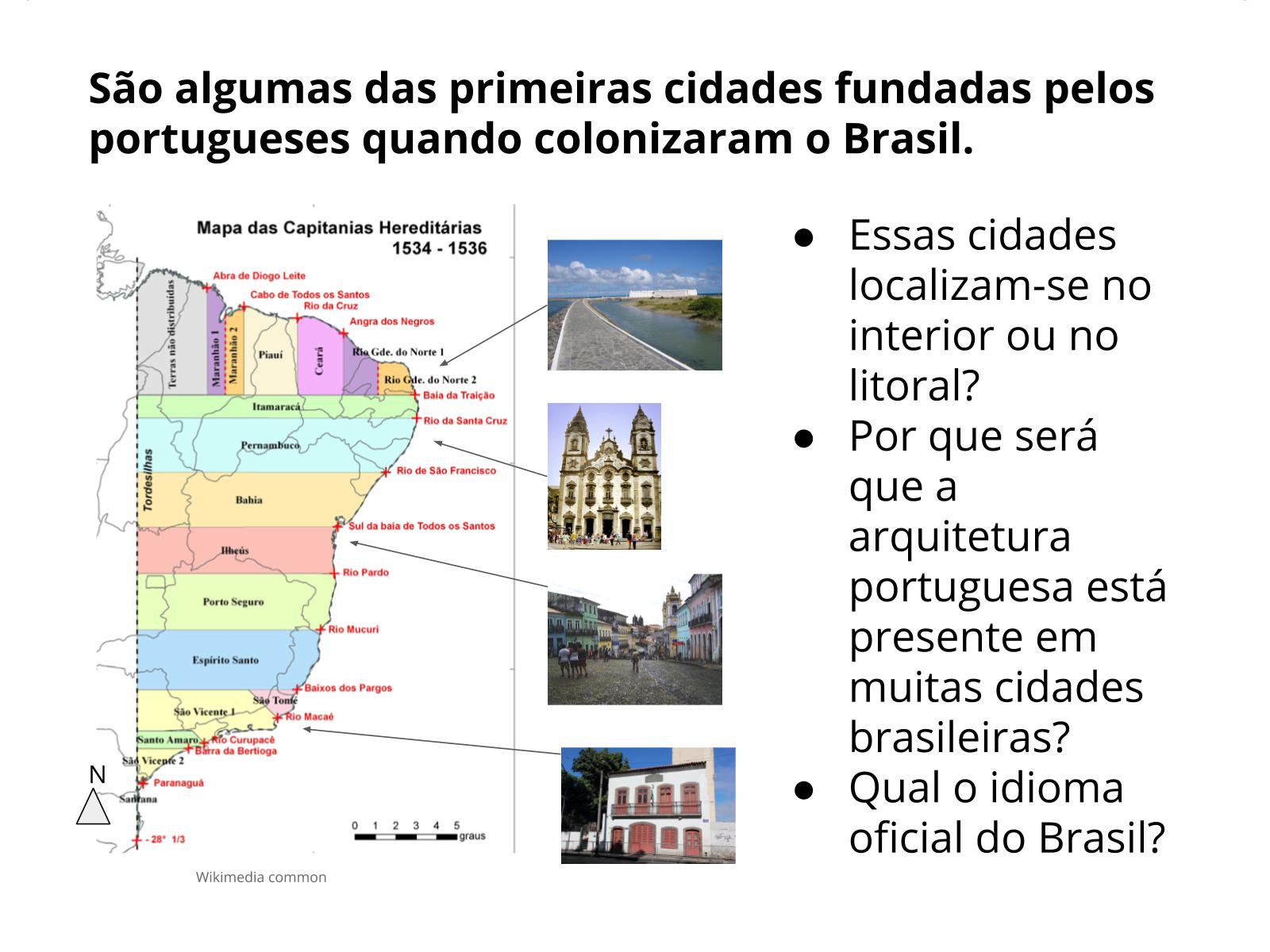 E os portugueses também migraram para o Brasil