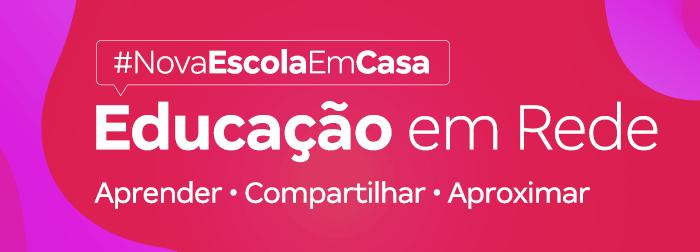 #EducaçãoEmRede: Confira nossa programação e inscreva-se!