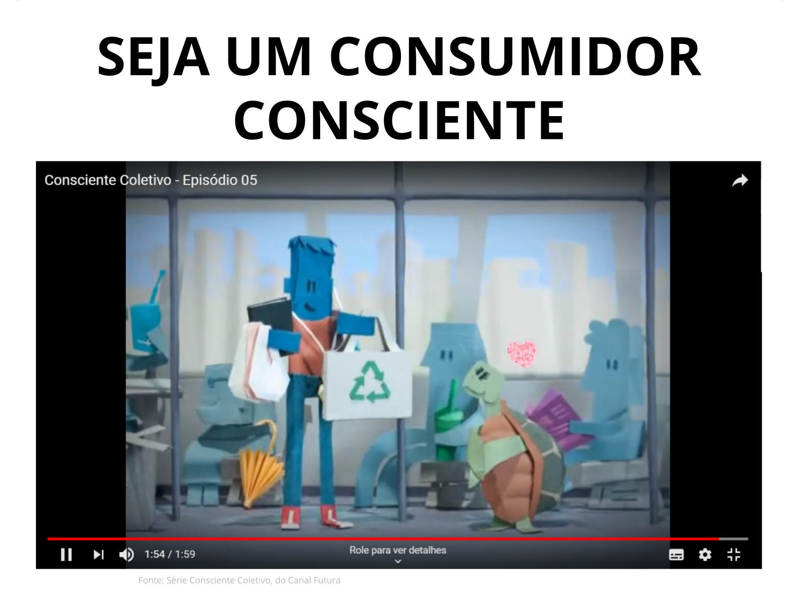 Trabalhar e consumir