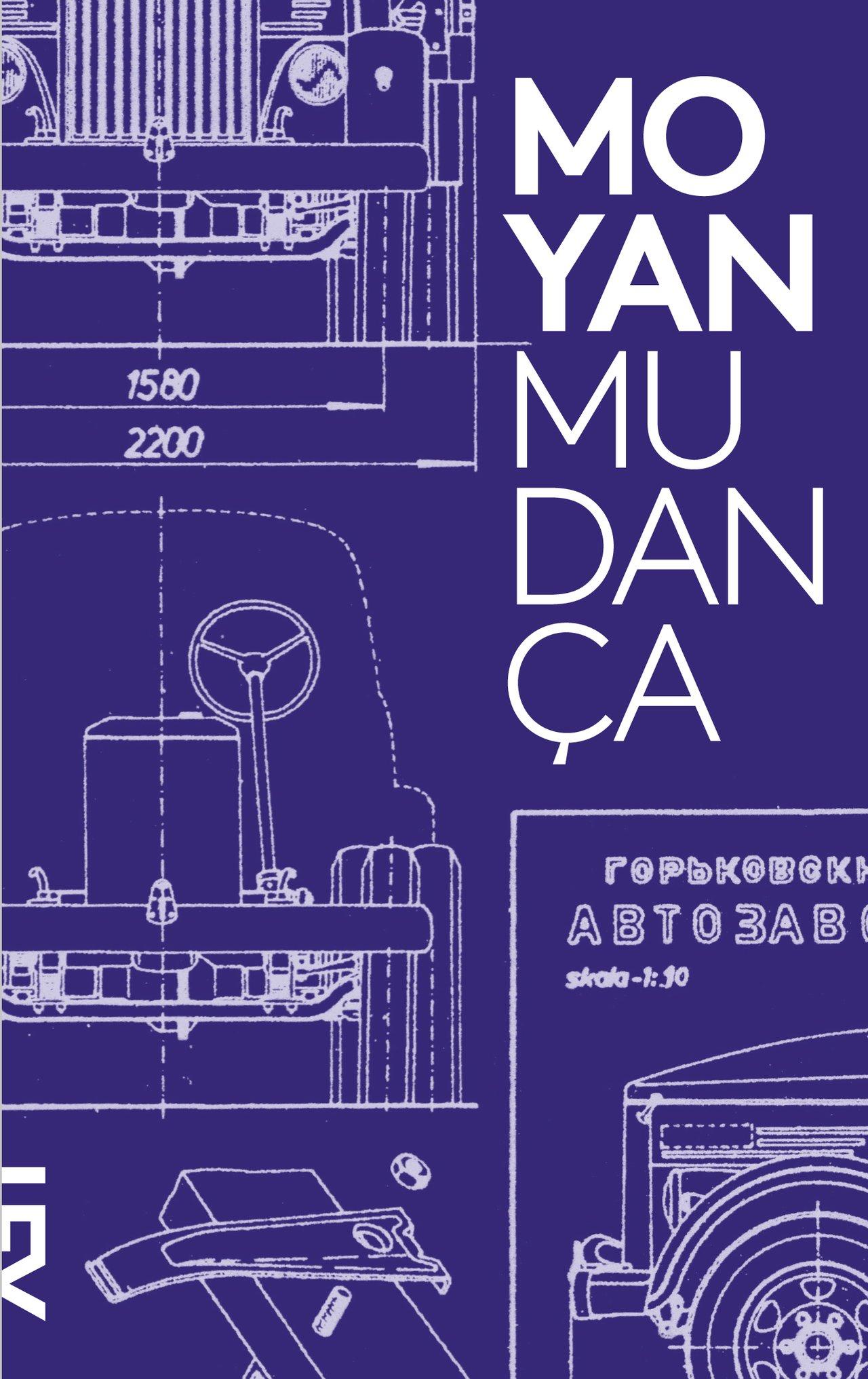 capa do livro Mudança, de Mo Yan. (crédito: divulgação)