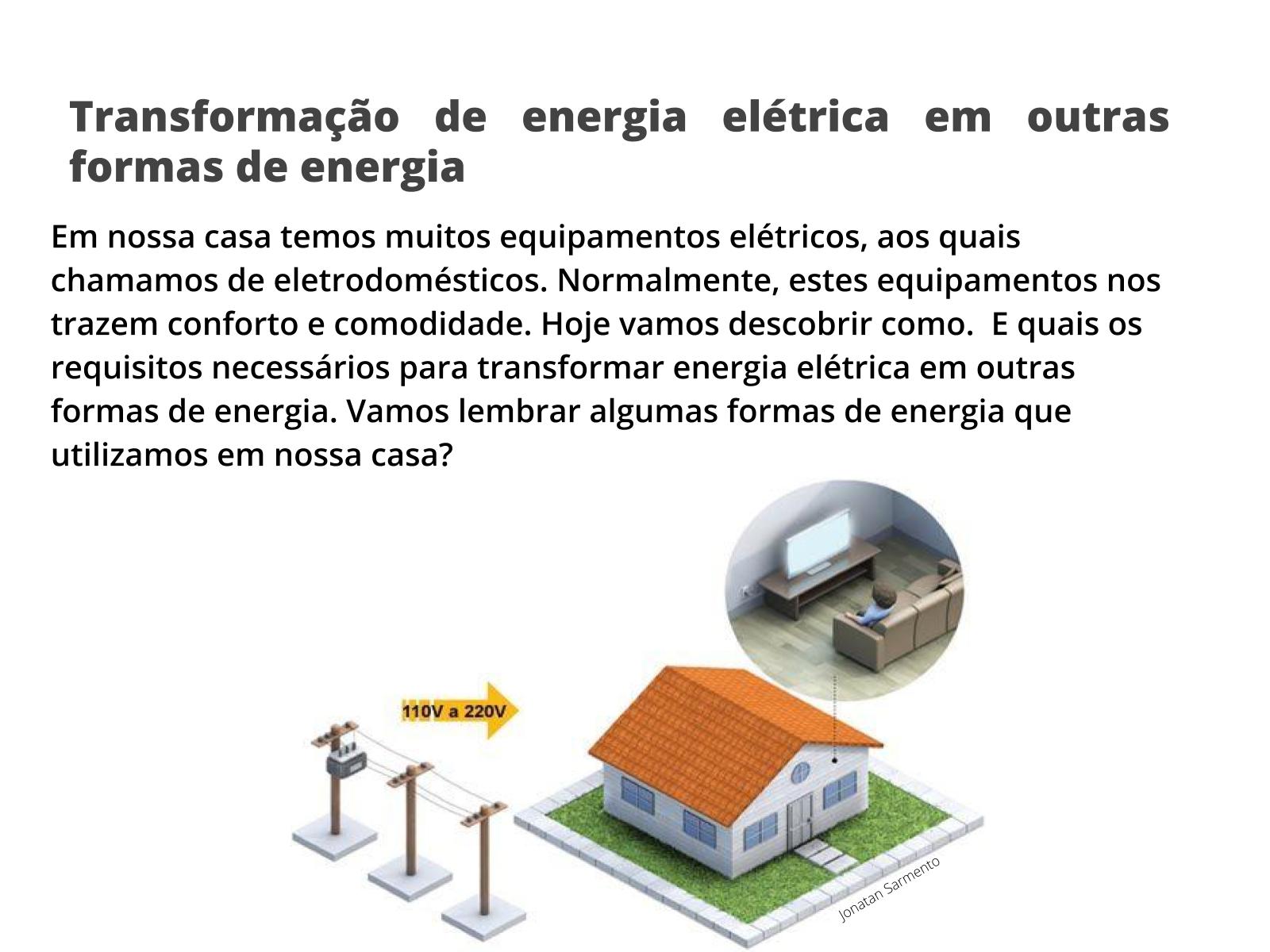 Grandeza e unidade de energia elétrica