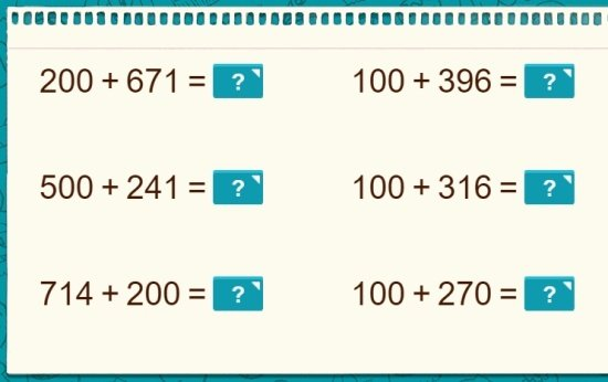 Números de 3 dígitos