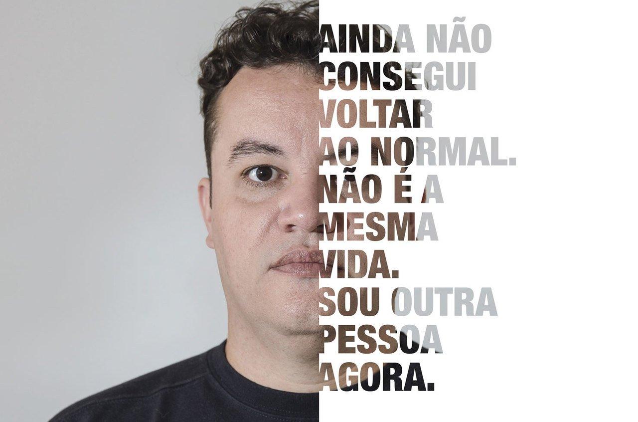 """""""Ainda não consegui voltar ao normal. Não é a mesma vida. Sou outra pessoa agora"""" afirma Fernando César Gouveia, professor de História na rede pública de Londrina (PR), exposto por convidar uma drag queen para uma atividade sobre diversidade. Crédito: Sérgio Ranalli"""