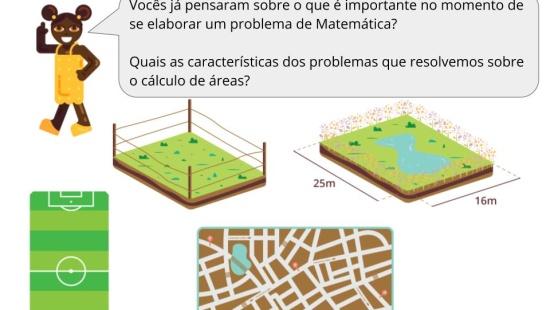 Formulando problemas: área de figuras geométricas