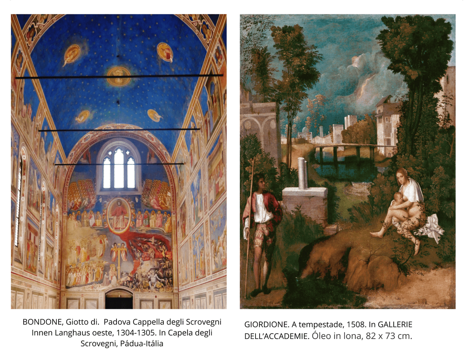 A arte renascentista - Pintura
