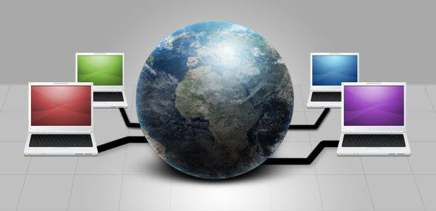 Conexões com a internet. Imagem: Andre Menezes