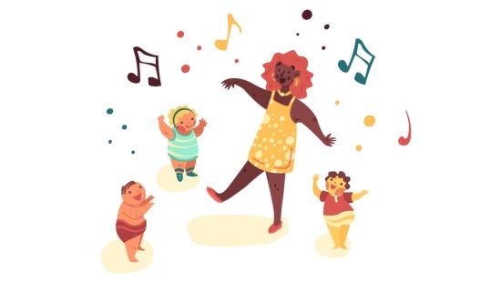 Clássico para dançar, ouvir e tocar com os bebês