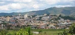 Vista da cidade de Atibaia, no interior de São Paulo
