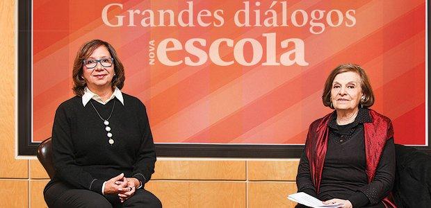 Grandes diálogos: Regina Scarpa e Delia Lerner. Foto: Manuela Novais