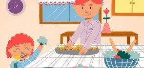 PDF para baixar: Guia e receitas para cozinhar em casa