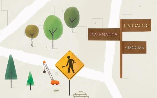 Ilustrações de sinais de trânsito