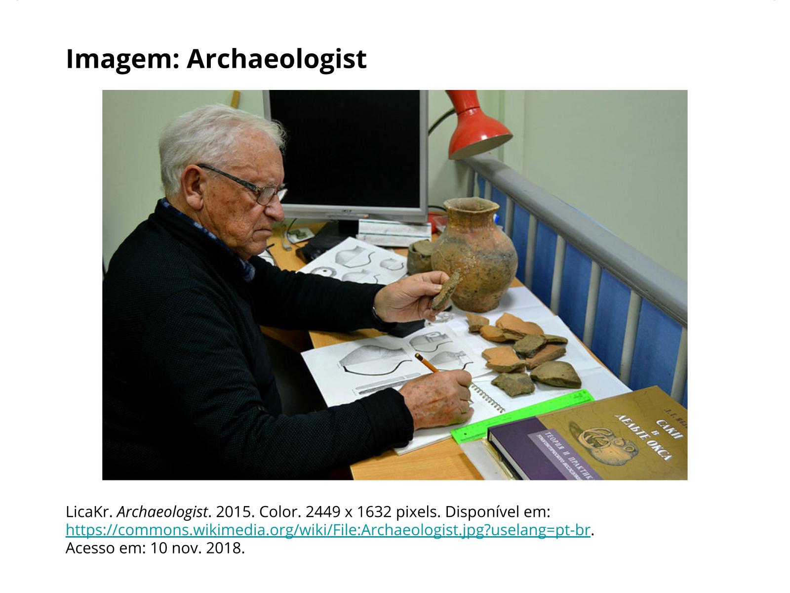 O trabalho arqueológico e o povoamento da América