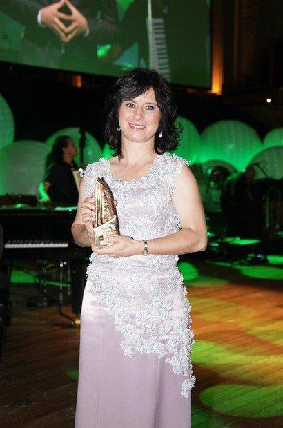 A professora de Matemática de Joinville foi uma das vencedoras da 15ª edição do Prêmio Victor Civita, com o projeto 'Joinville e a Matemática'