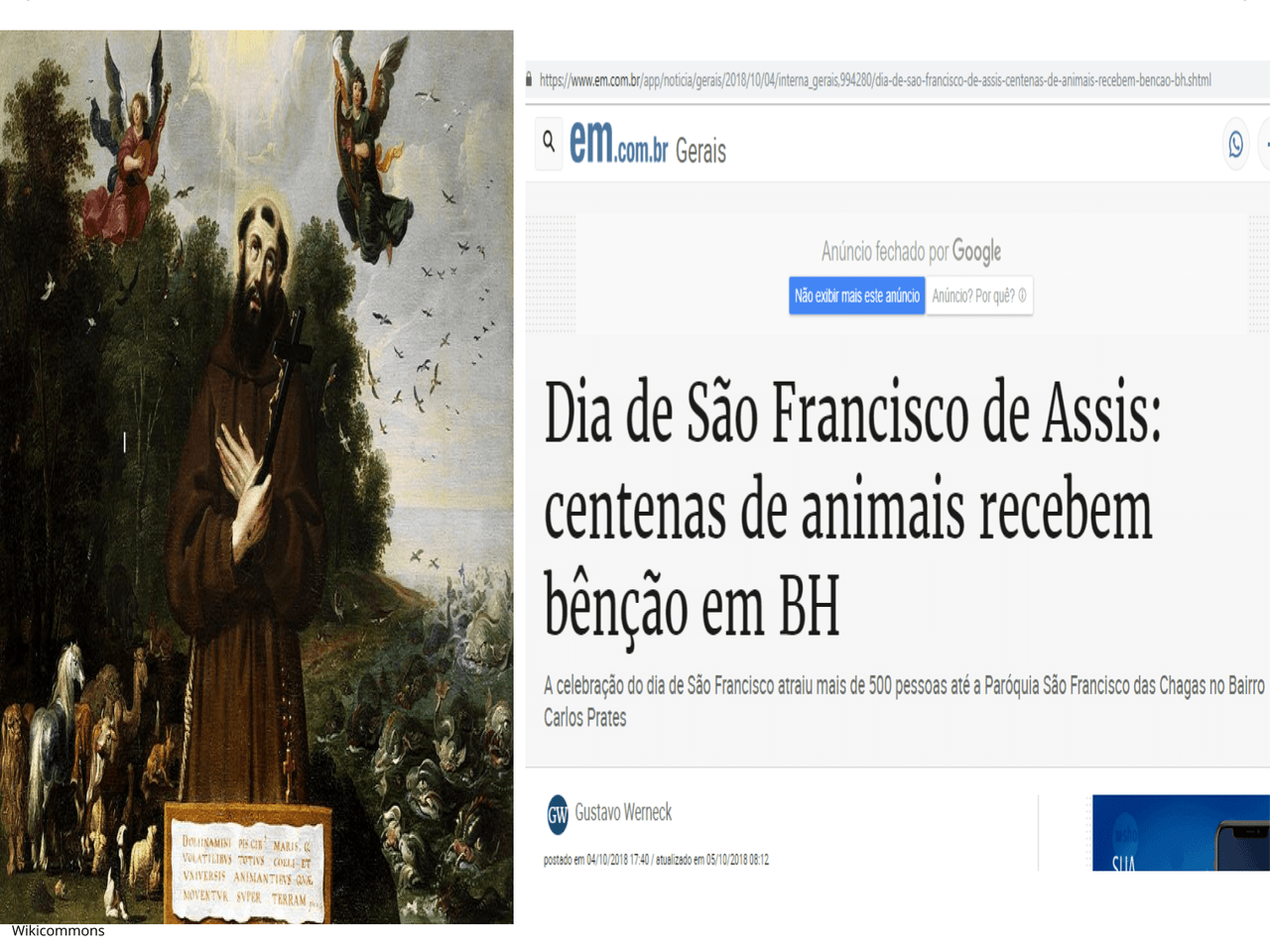Plano De Aula 6º Ano Historia Sao Francisco De Assis E As