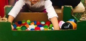 Atividade: Explorando materiais de largo alcance em casa
