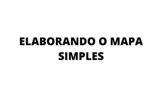 MAPAS MENTAIS - TRAJETO DA ESCOLA