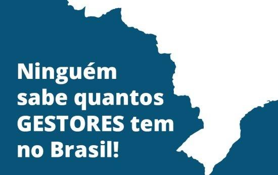 Gif com o mapa do Brasil e escrito