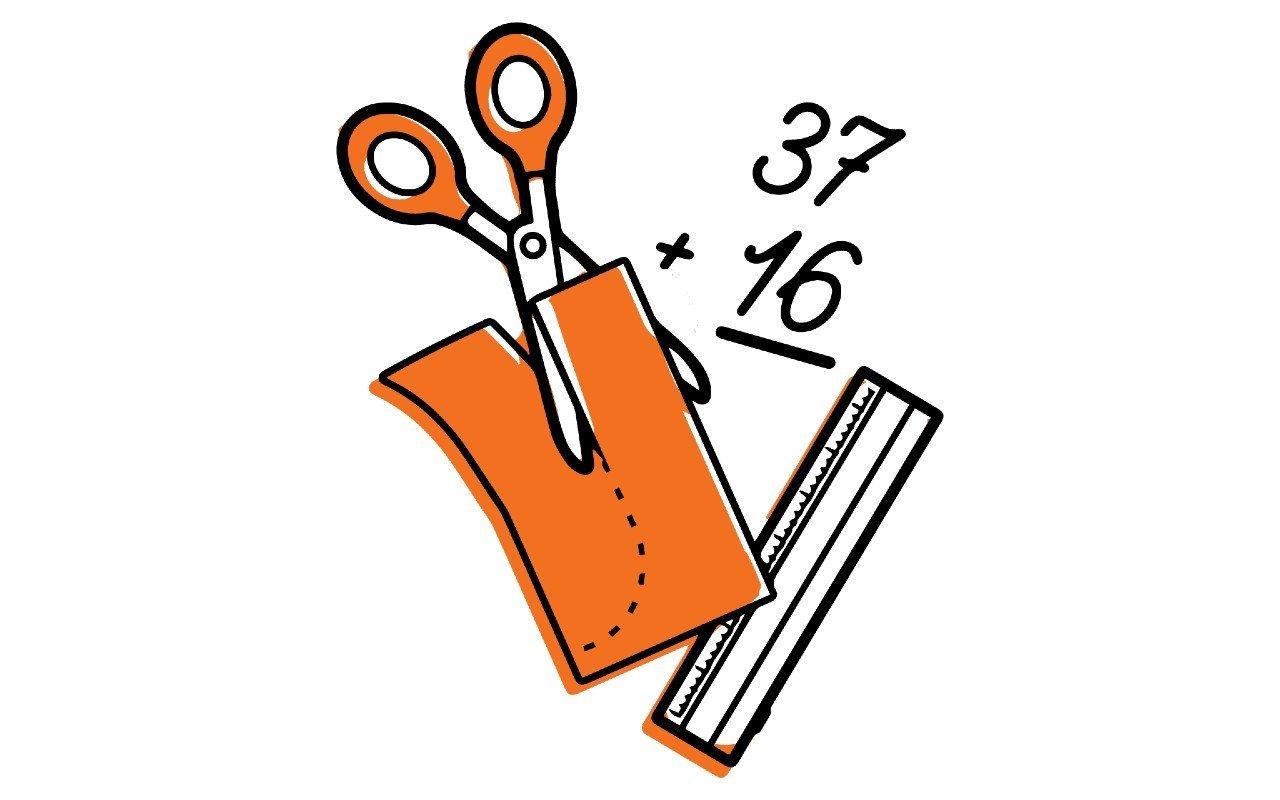 Ilustração para o projeto Costurando a Matemática