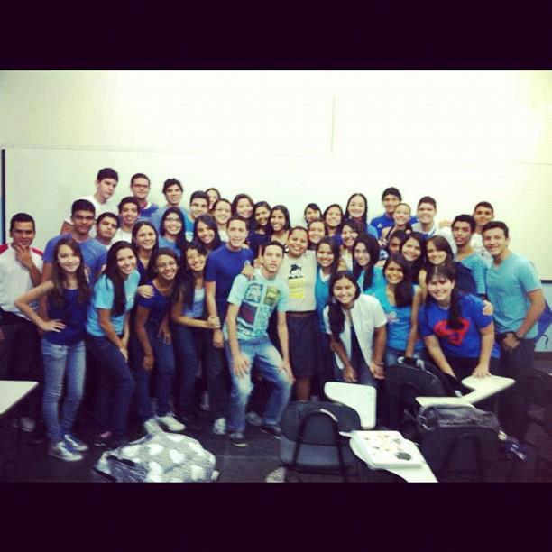 Olha a turma da professora Marcela Castro