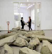 O Fim do Século 20, instalação de Joseph Beuys: solidariedade. Foto: Divulgação