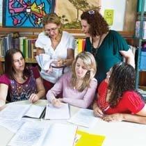 Em sintonia com a rede de ensino. Foto: Diana Abreu