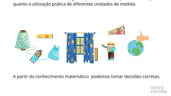 Decorando e Cortinando janelas: Consumo consciente com o uso de Grandezas e medidas.