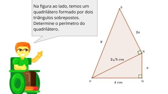 Calculando perímetro de triângulo e quadrilátero no Geoplano com o auxílio do Teorema de Pitágoras