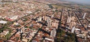Cidade de Sertãozinho, no interior de São Paulo