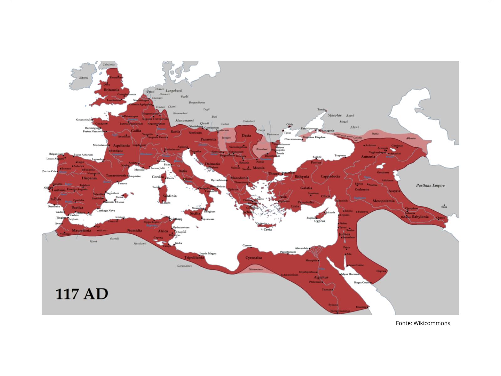 Formas de conquista do  Império Romano
