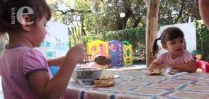 Alimentação   Cuidados na Creche