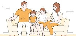 Como discutir acidentes domésticos com as famílias